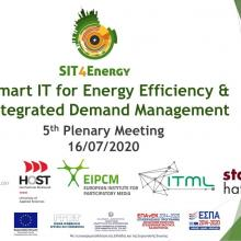 SIT4Energy 5th plenary meeting